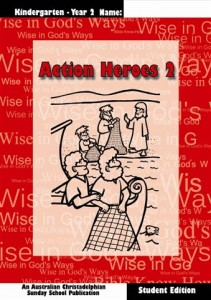Cover Action Heroes Book Two