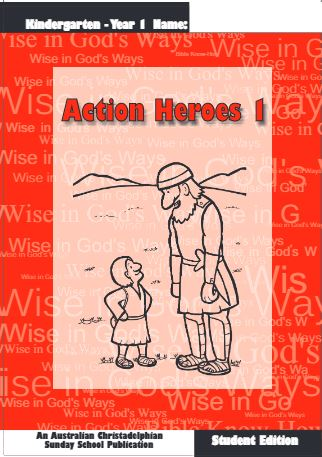 Action heroes 1 Student book