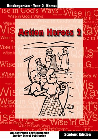 Action heroes 2, Student book