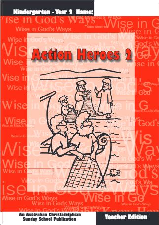 Action heroes 2, Teacher book