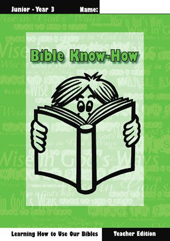 Bible Know How, Teacher book + KIT