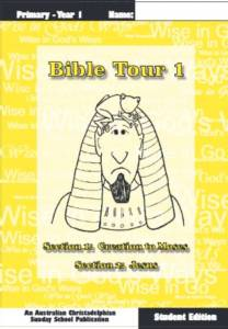 Bible Tour 1 Student book