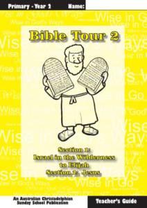 Bible Tour 2, Teacher Book