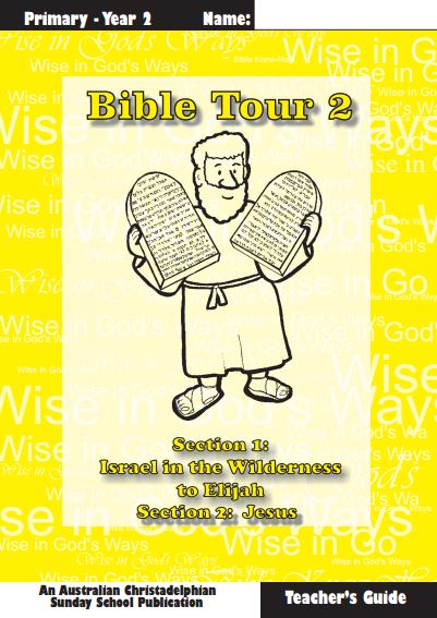 Bible Tour 2, Teacher Book