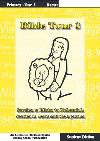 Bible Tour 3, Student Book