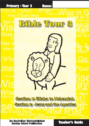 Bible Tour 3, Teacher Book