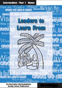 Leaders to learn from