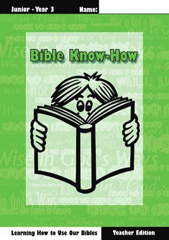 Bible Know How, Teacher book + KIT